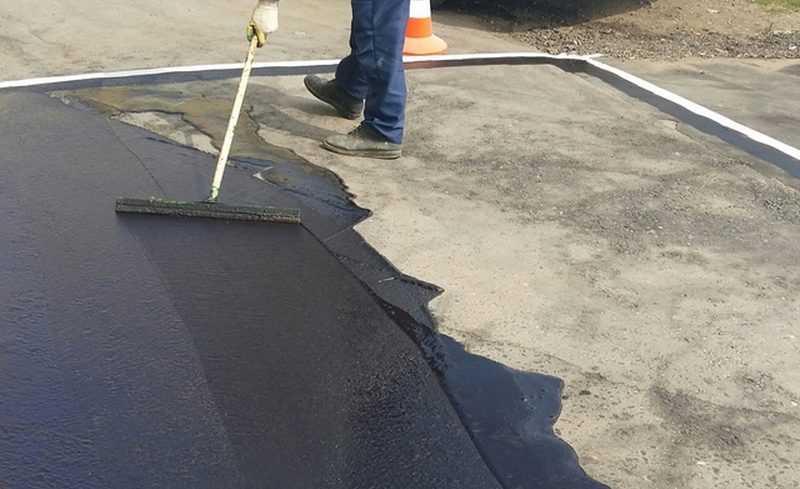 Ремонт асфальта покрытия дороги в Москве и Московская область цена м2